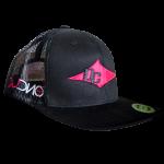 DC Hat - Black, Pink