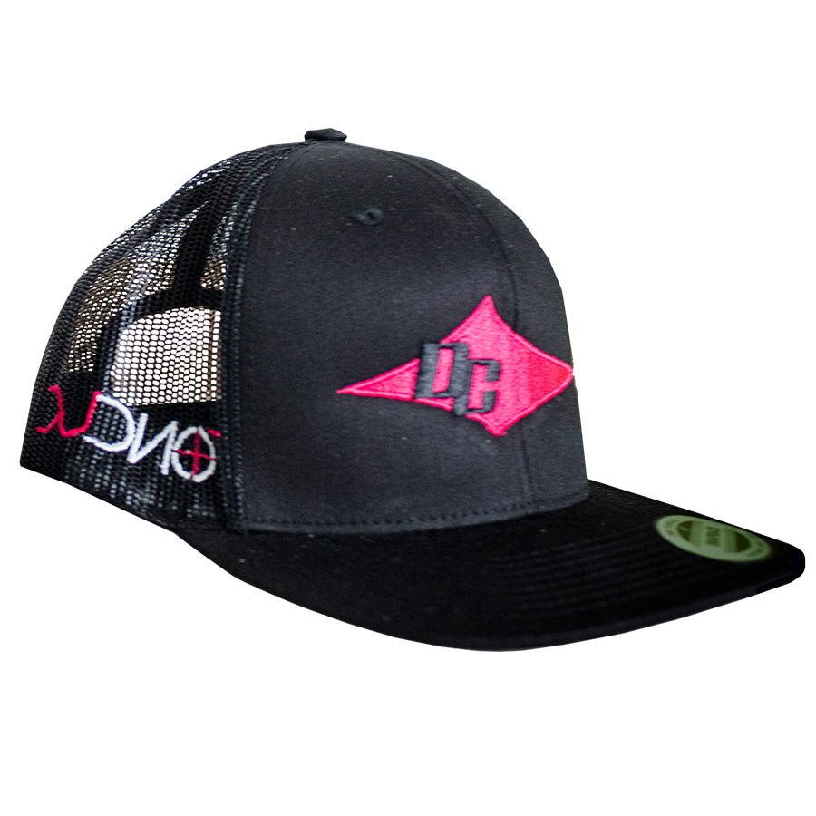 DC Hat - Black, Pink