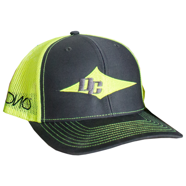DC Hat - Neon Yellow, Black