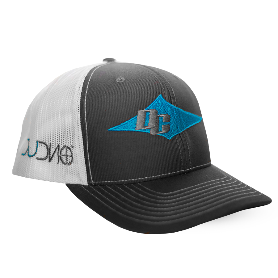 DC Hat (White, Charcoal, Blue)